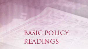 Basic Policy Readings