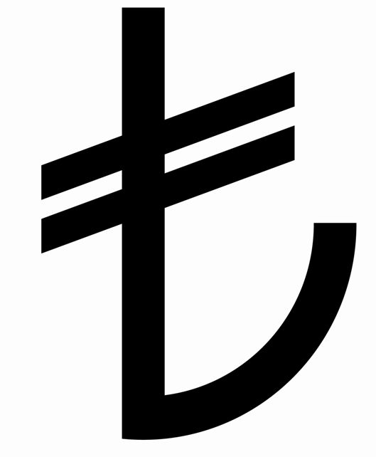 tl, sımgesı, lira, sembolü